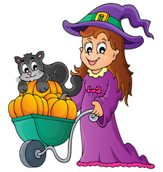 Halloween theme image 2 vector