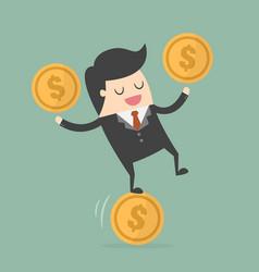 money management vector image