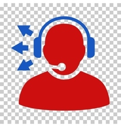 Operator Answer Speech Icon vector