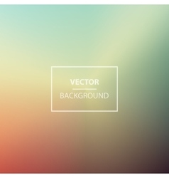 Summer Blurred backgrounds vector image