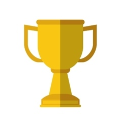Trophy icon winner design graphic vector