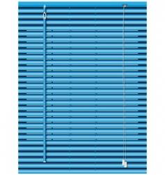 venetian blinds vector image vector image