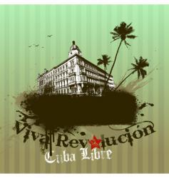 Viva revolution illustration vector