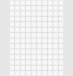 White mosaic background vector