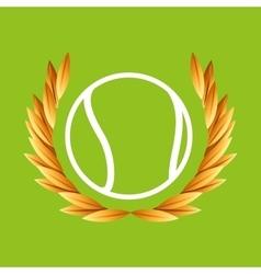 baseball sport olympic blue badge vector image