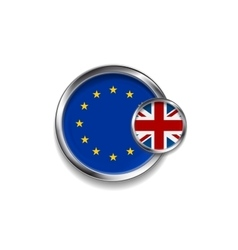 Brexit design vector image