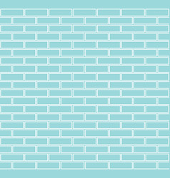 seamless brick background vector image vector image