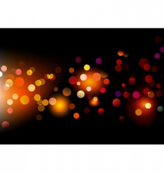 lights dots vector image vector image