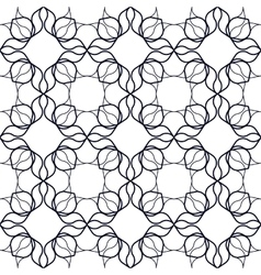 Art Nouveau Linear Pattern vector image