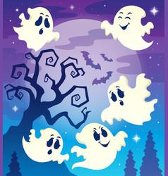 Halloween theme image 6 vector
