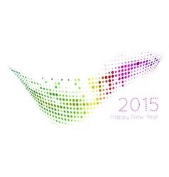 Happy 2015 new year vector