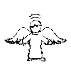 holy spiritual angel vector image
