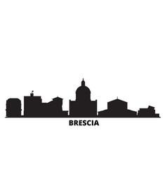 Italy brescia city skyline isolated vector