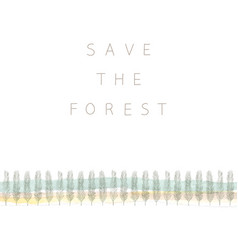 Save-forest vector