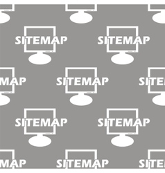 Sitemap seamless pattern vector image