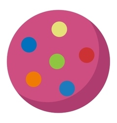 Toy ball vector