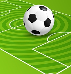 Soccer championship vector image vector image