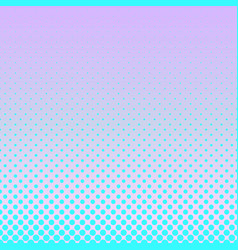 geometrical gradient halftone circle pattern vector image