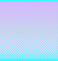 geometrical gradient halftone circle pattern vector image vector image