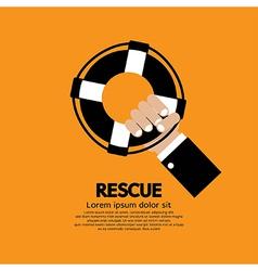 Rescue vector image
