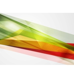 Colorful geometry background vector image