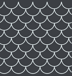 fish scale seamless pattern vector image