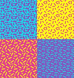 Seamless background 80s1 vector