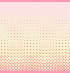 halftone circle pattern background - gradient vector image