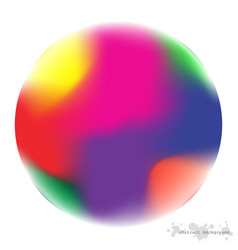 design gradient mesh colorful circles with line vector image