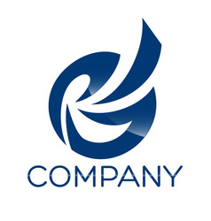 gp letter logo vector image