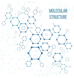 Molecular structure or structural coding vector image