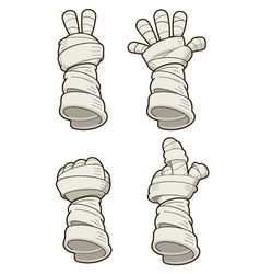 Mummy hand vector