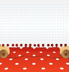 Toys background vector image