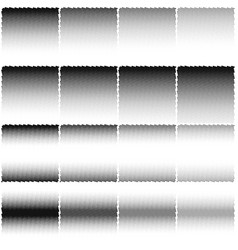 pixel abstract noise design template eps 10 vector image vector image
