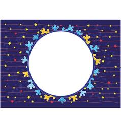 Stars Around Us vector image vector image