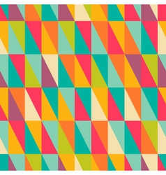 right triangle pattern vector image vector image