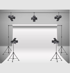 3d realistic professional photo video vector image