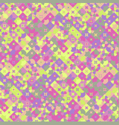 Abstract seamless diagonal curved shape pattern vector