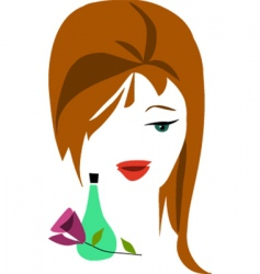 cosmetics and beauty products vector image