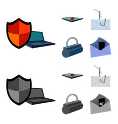 hacker system connection hackers and hacking vector image