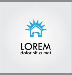 Home tile logo vector