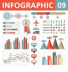 Infographic Elements 09 vector