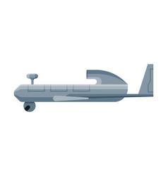 military fighter aircraft special aviation vector image