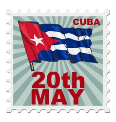 national day of Cuba vector image
