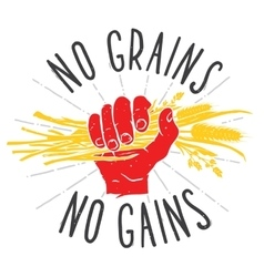 No grains - no gains motivation vector