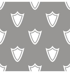 Shield seamless pattern vector image