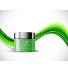Skin moisturizer cosmetic design template vector