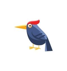 Woodpecker Simplified Cute vector