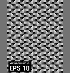 abstract background pattern mosaic grey vector image
