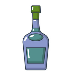 alcohol icon cartoon style vector image